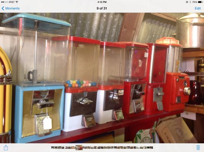 Candy gum machine